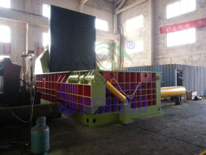 Hydraulic Automatic Scrap Metal Steel Shavings Compactor pictures & photos