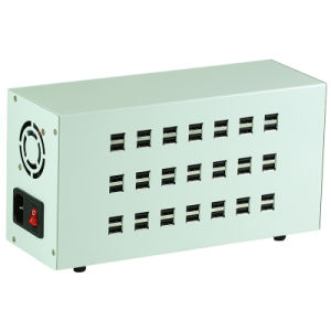 Charging Station 42 Ports 200W Intelligent USB Charger for Mobile Phone Tablets pictures & photos