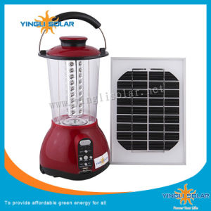 Hot Sell LED Solar Camping Light with Mobile Phone Charger pictures & photos