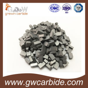 Tungsten Carbide Brazed Inserts K10 P10 M10 pictures & photos