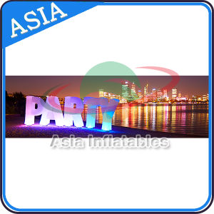 Warehouse Cheap LED Alphabet Letter, Customize Inflatable Letters with Light pictures & photos