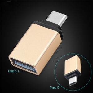 Mobile Phone Accessory USB 3.1 to Type-C OTG Data Adapter pictures & photos