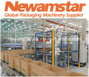 Newamstar Secondary Packaging Half Labeller pictures & photos