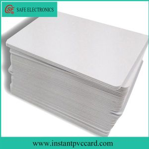 Double Sides Printable Inkjet Blank RFID FM1108 PVC Card pictures & photos