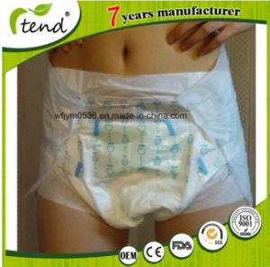 Disposable Cheap Ultra Thick Adult Woman Diapers for Elderly pictures & photos