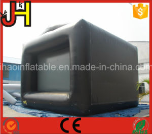Outdoor Inflatable Cubical Shape Movie Screen for Sale pictures & photos