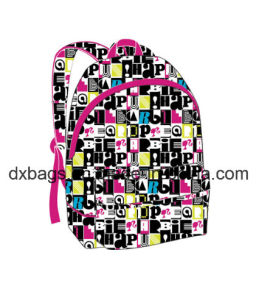 Teenage Canvas Backpack Bag pictures & photos