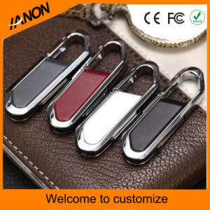 Business Leather USB Flash Memory Metal USB Flash Drive pictures & photos