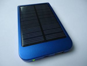 Solar Charger Sp-1100 with 5000mAh Li-Pol Power Bank pictures & photos