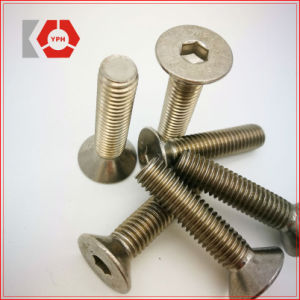 DIN7991 Hex Socket Countersunk Screws Carbon Steel pictures & photos
