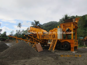 Mobile Stone Crusher and Screening Plant pictures & photos