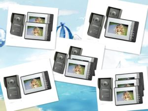 Hot Sale: 4 Wire Video Door Phone with Intercom System for Home or Office pictures & photos