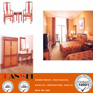 Wooden Furniture Standard Hotel Bedroom Furniture Set pictures & photos