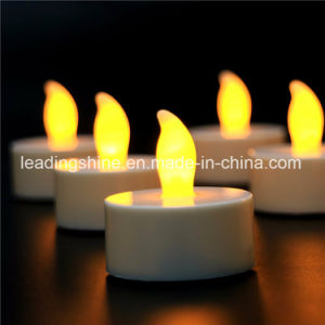 Wedding Decoration Warm White Yellow Colorful Flickering Flameless Tea Light pictures & photos