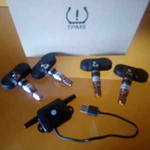 USB TPMS Internal Sensors for 4 Tire Cars Android Navigation APP pictures & photos