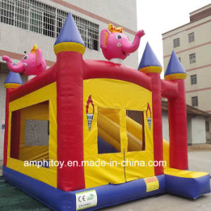 Pink Elephant Jumping Castles Inflatable Bouncy Castle