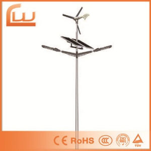 Double Arms 120W Solar Hybrid Wind LED Street Light pictures & photos