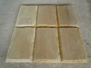 Wooden Yellow Sandstone for Wall Tile and Building Material pictures & photos