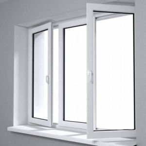 UPVC Sliding Windows for Project pictures & photos