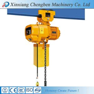 Crane Used 1 Ton Electric Chain Hoist pictures & photos