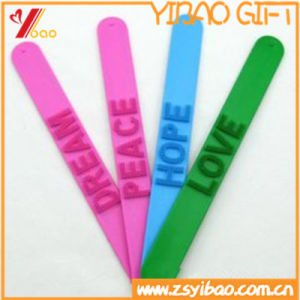 2017 Hot Sale Eco-Friendly Silicone Slap Bracelets pictures & photos