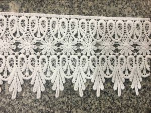 High Quolity Milky Poly Timming Lace for Garments and Home Textile pictures & photos
