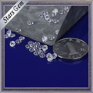 Factory Direct Sales Low Price 3.5mm Brilliant White Synthetic Cubic Zirconia pictures & photos