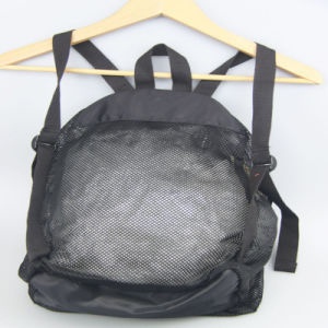 Net Fabric Backpack Girls School Backpack Casual Backpack pictures & photos