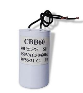 Motor Run Capacitor/Power Capacitor/Aluminum Electrolytic Capacitor pictures & photos
