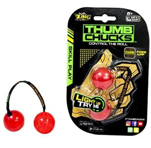 New Arrival Glow in Dark Finger Yoyo Roll Ball Thumb Chucks Fidget Spinner pictures & photos