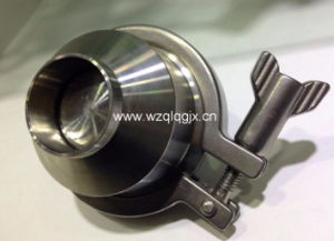 304 316 Food Grade Sanitary Stainless Steel Male Threaded Check Valve pictures & photos