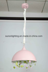 Colorful Wrought Iron Floral Pendant Light pictures & photos