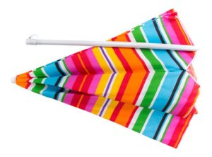 New Style, New Design, Stripe, Colorful, Tiltable, Beach Umbrella pictures & photos
