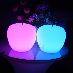 LED Light Table Decoration Apple Shape Light Decoration for Party pictures & photos