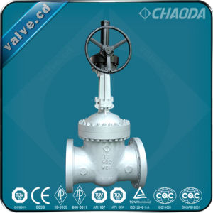 API600 Flanged Cast Steel Wedge Gate Valve pictures & photos