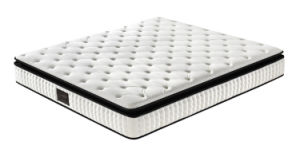 Home Furniture Double Pillow Top Memory Foam Mattress pictures & photos