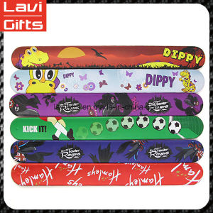 Fashion Custom Silicone Ruler Slap Bracelet with Logo pictures & photos