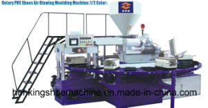 20 Station PVC Air Blowing Slippers Injection Molding Machine pictures & photos