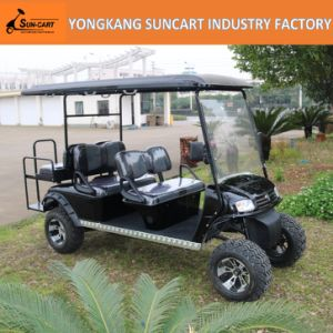 Hot Selling and New Design Electric Vehicle 6 Seater Electric Golf Cart with Ce Certificate pictures & photos