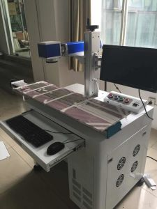 Metal Laser Marking Machine with Factory Price pictures & photos