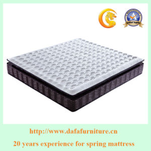 Pocket Spring Memory Foam Mattress with Euro Top New Design for Bedroom Furniture Dfm-02 pictures & photos
