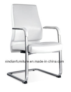 Xindian Fashion Design White PU Fixed Office Chair (D9045) pictures & photos