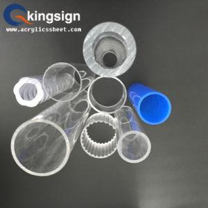 Plexiglass Cylinder Thread Acrylic Tube pictures & photos