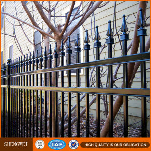 Cheap Elegant Iron Garden Fence Design pictures & photos
