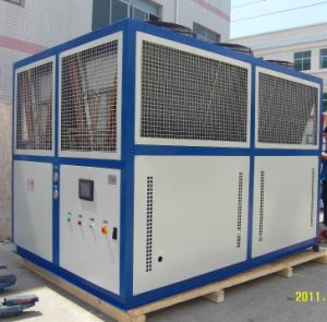 200 Kw 110 HP Bitzer Compressor Air Cooled Screw Water Chiller pictures & photos