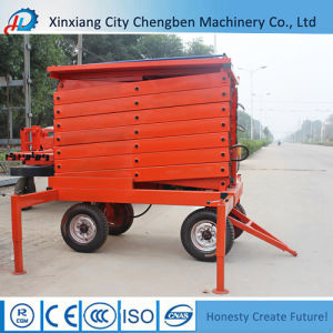 Anti-Skid Platform 300kg/500kg Electro-Hydraulic Elevator with Excellent Deisgn pictures & photos