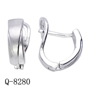 925 Silver Earrings Fashion Plain Silver Earrings. pictures & photos