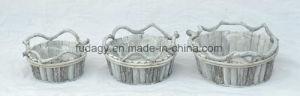 White Washed Garden Decorative Flower Pot pictures & photos