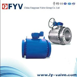 Casting Steel Floating Ball Valve pictures & photos