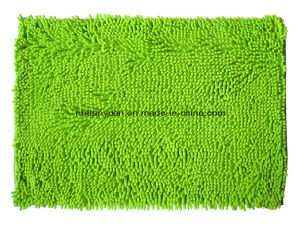 Shaggy Chenille Kitchen Room Rug Mat with Anti SIP Base